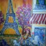 cafe in paris art