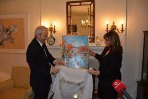 greek emb. official photo me and amb. unveiling.545644_693888710729073_6005964277979765464_n